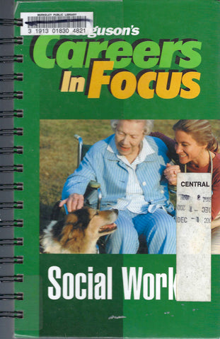 Careers in Focus Social Worker