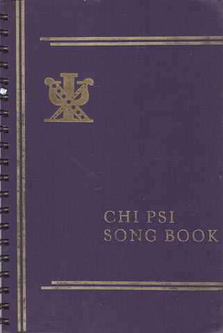 CHI PSI Song Book