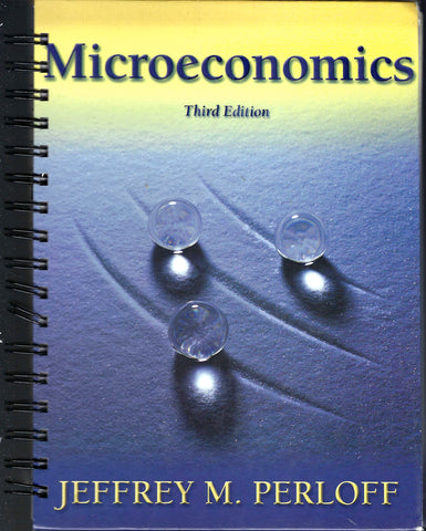 Microeconomics Third Edition