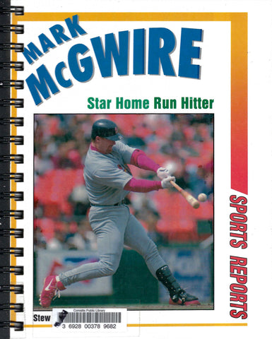 Mark McGwire Star Home Run Hitter
