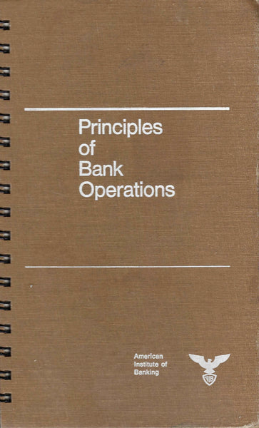 Principles of Bank Operations