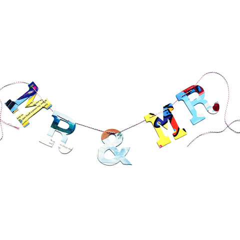 Board Book Garland Kit - MR & MR