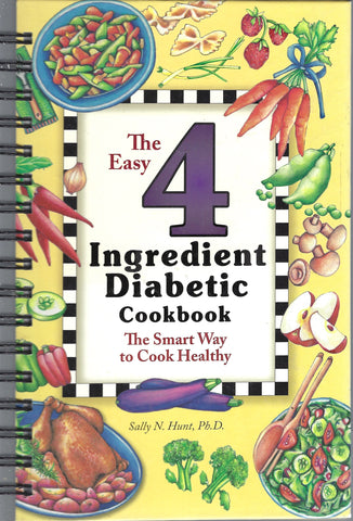 Easy 4 Ingredient Diabetic Cookbook