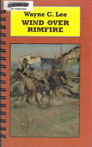Wind Over Rimfire (library sticker)