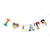 Board Book Phrase Garland Kit I Heart CATS