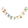 Board Book Garland Kit - NUMBER LINE
