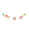 Board Book Phrase Garland Kit - LOVE IS LOVE