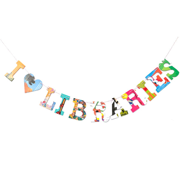 Board Book Phrase Garland Kit I Heart Libraries