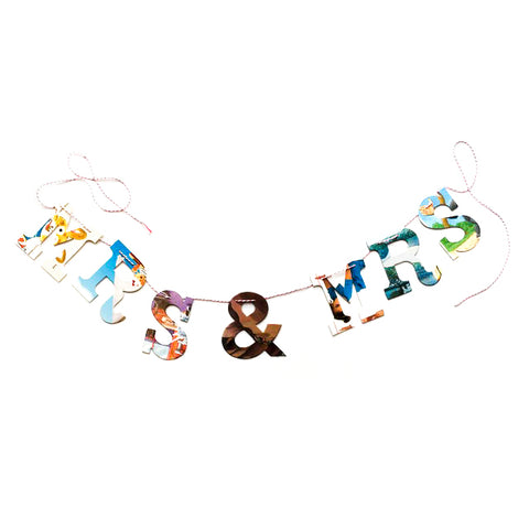 Board Book Garland Kit - MRS & MRS