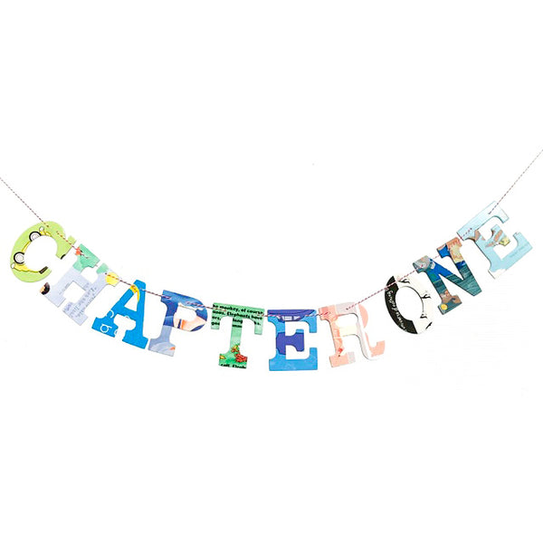 Board Book Phrase Garland Kit CHAPTER ONE
