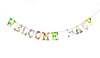 Board Book Phrase Garland Kit - WELCOME BABY