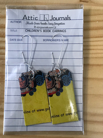 Book Lover Earrings -- 63