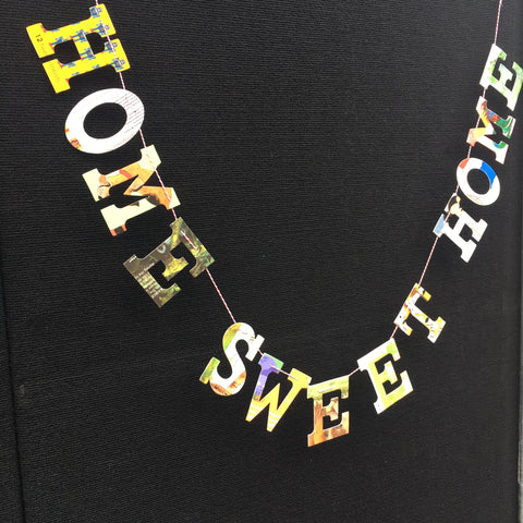 Board Book Phrase Garland Kit - HOME SWEET HOME