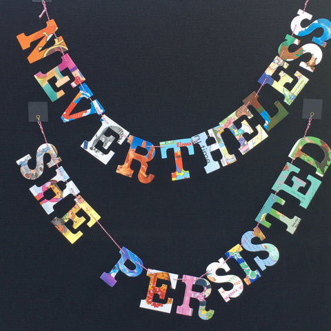 Board Book Garland NEVERTHELESS SHE PERSISTED