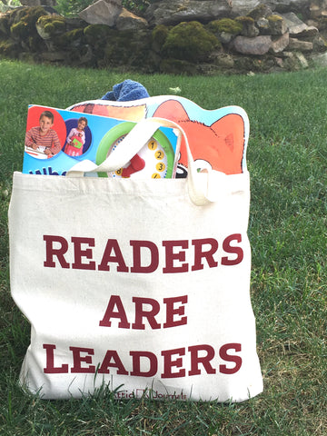 Readers Are Leaders Canvas Tote 2017 Edition
