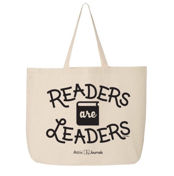Readers Are Leaders Canvas Tote Artist Edition