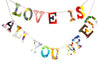 Board Book Garland Kit -- LOVE IS ALL YOU NEED