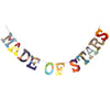 Board Book Garland Kit -- MADE OF STARS