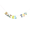 Board Book Phrase Garland Kit -  MAZEL TOV