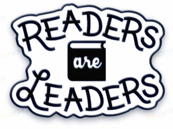 1 Enamel Pin -- READERS ARE LEADERS