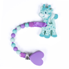 Georgie Giraffe Teething Toy w/ Beaded Pacifier Clip (assorted colors)