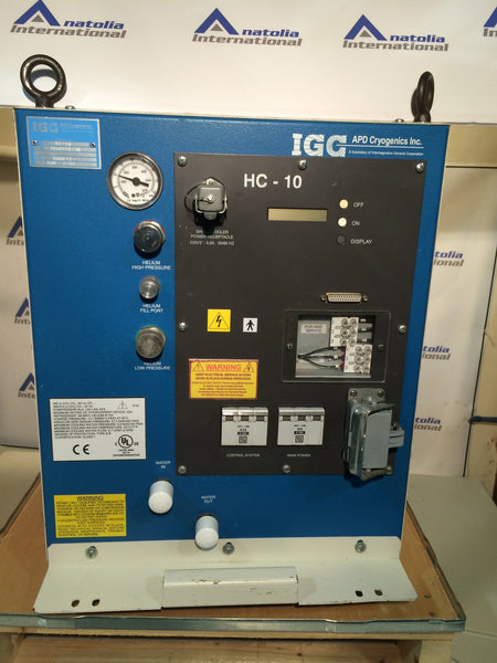 APD HC-10 MRI HELIUM COMPRESSOR - Anatolia International, MRI