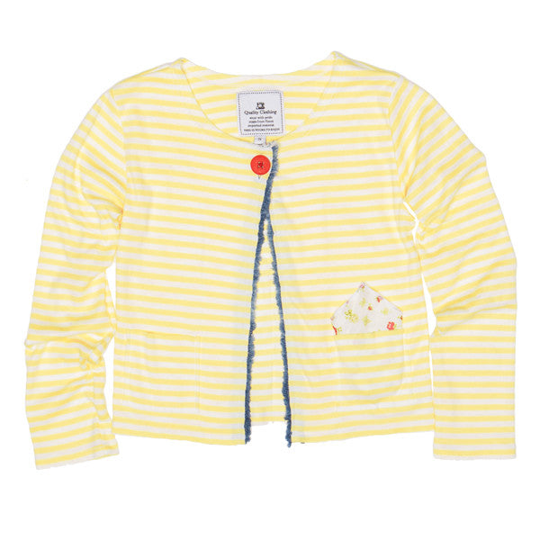 Figaro Cardigan - Yellow