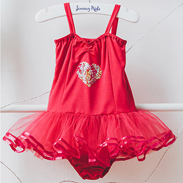 Ballet Baby Dress - Red