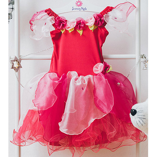 Pretty Fairy Dress - Red