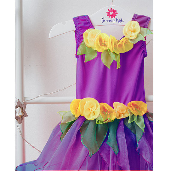Little Princess Dress - Purple