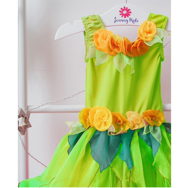 Little Princess Dress - Lemongrass