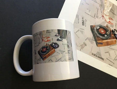 "Limited Edition ""Rotate"" Coffee Cup 1 of 4 - curtnerArt"