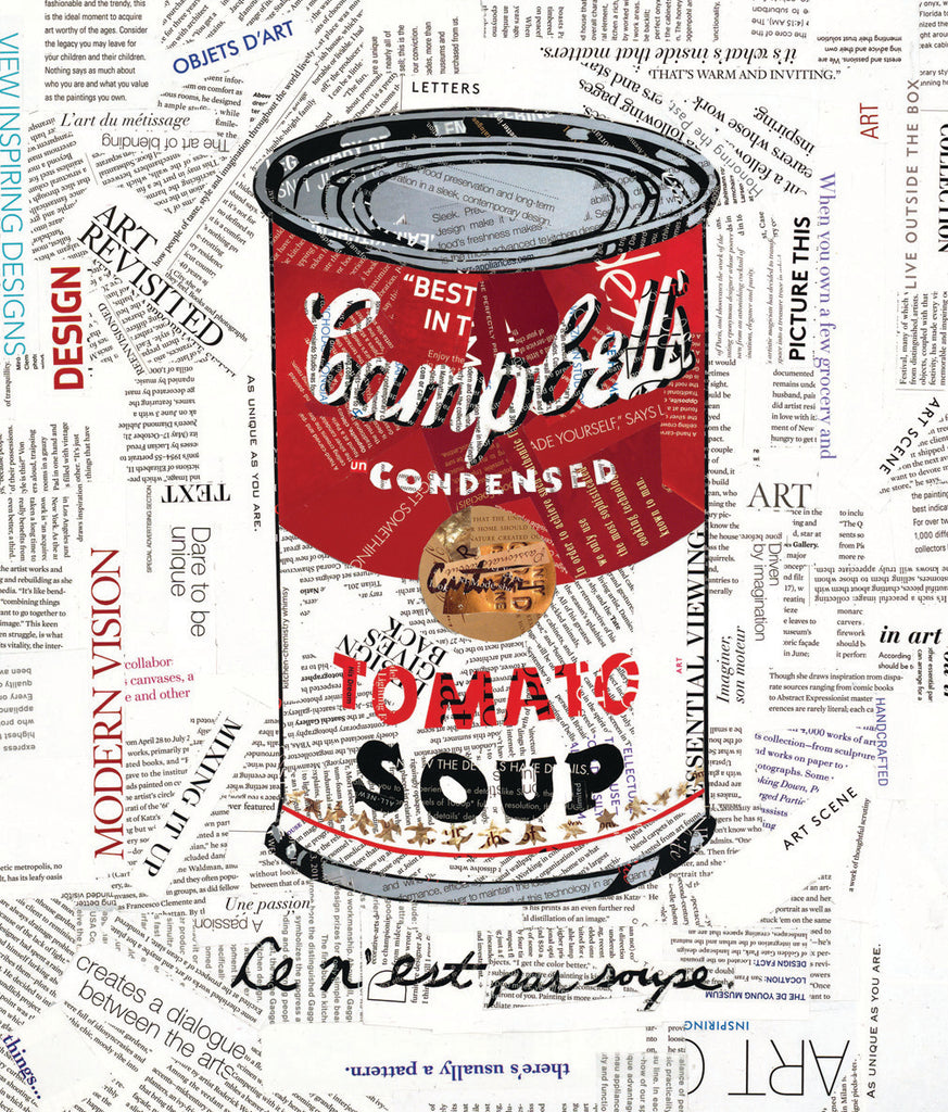 UnCondensed (Homage to Warhol & Magritte)