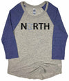 Original North // Baseball Raglan