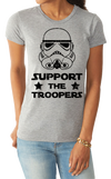 Support the Troopers - Cotton Tee