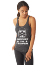 Support the Troopers - Tank Top