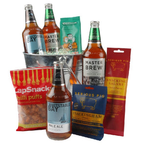 Craft Beer, Chilli and Pig Snacking Hamper