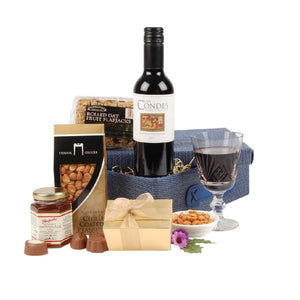 Fine Wine and Gourmet Treats Hamper
