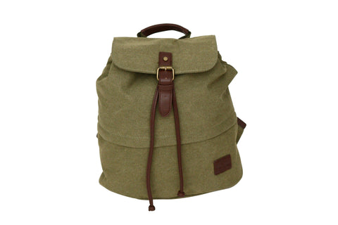 Tassia Small Canvas Casual Backpack