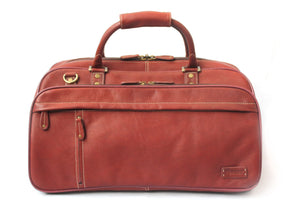 Cortez Colombian Leather Travel Holdall