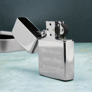 Personalised Metal Lighter