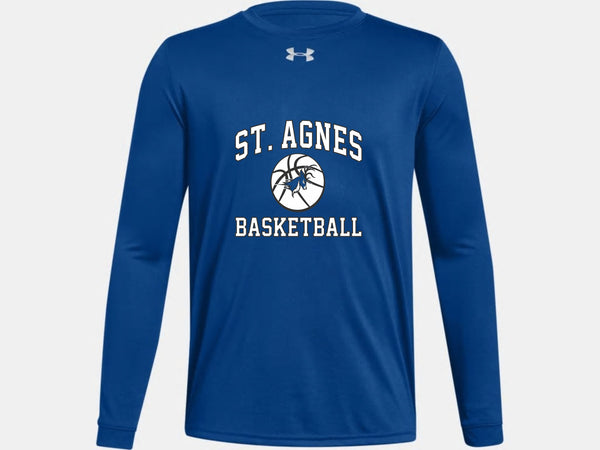 Saint Agnes Under Armour Long Sleeved Basketball Shirt