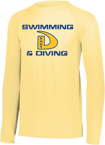 Dtown East Swimming & Diving Long Sleeve Training Top