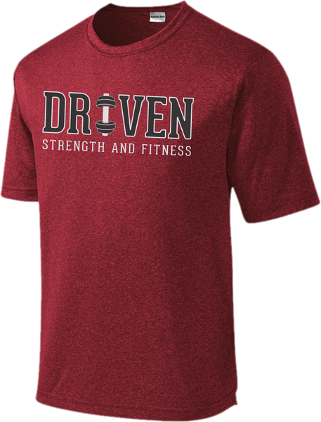 Driven Heather Performance Short Sleeve Dri-Fit