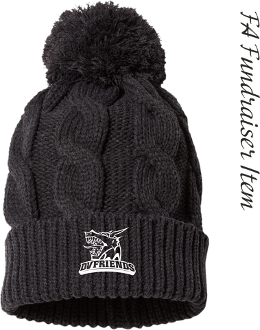 *FA Fundraiser* DVFriends Cable Pom Beanie
