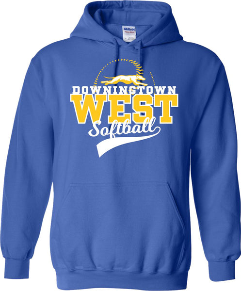 West Softball 2018 Pullover Hoodie