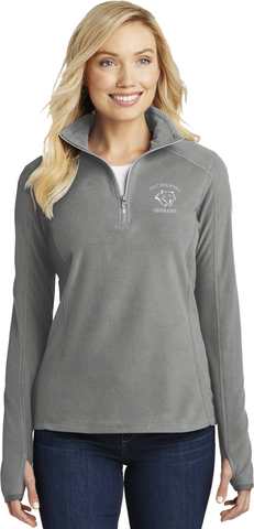 East Bradford Staff Ladies Microfleece Quarter-Zip