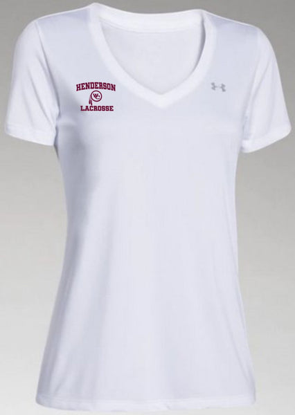Warriors Ladies UA V-Neck