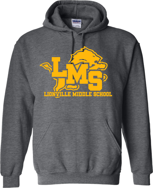 Lions Pullover Hoodie