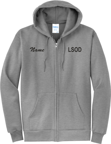 LSOD Studio Essential Zip Hoodie WITH NAME/No Back